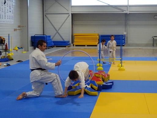 L'éveil-judo pour les 4-5 ans