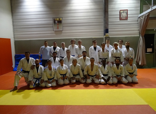 Jujitsu : Entrainement au Pau JCB