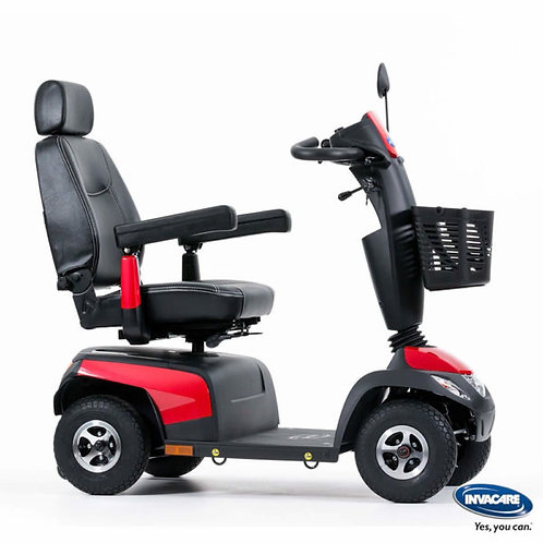 Invacare Orion Pro , As New, 8mph Mobility Scooter, In red