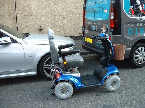 2019 Roma Shoprider Cadiz 8mph Mobility Scooter in Blue