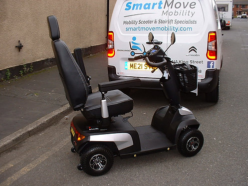 Invacare Orion Pro , As New, 8mph Mobility Scooter, In Silver