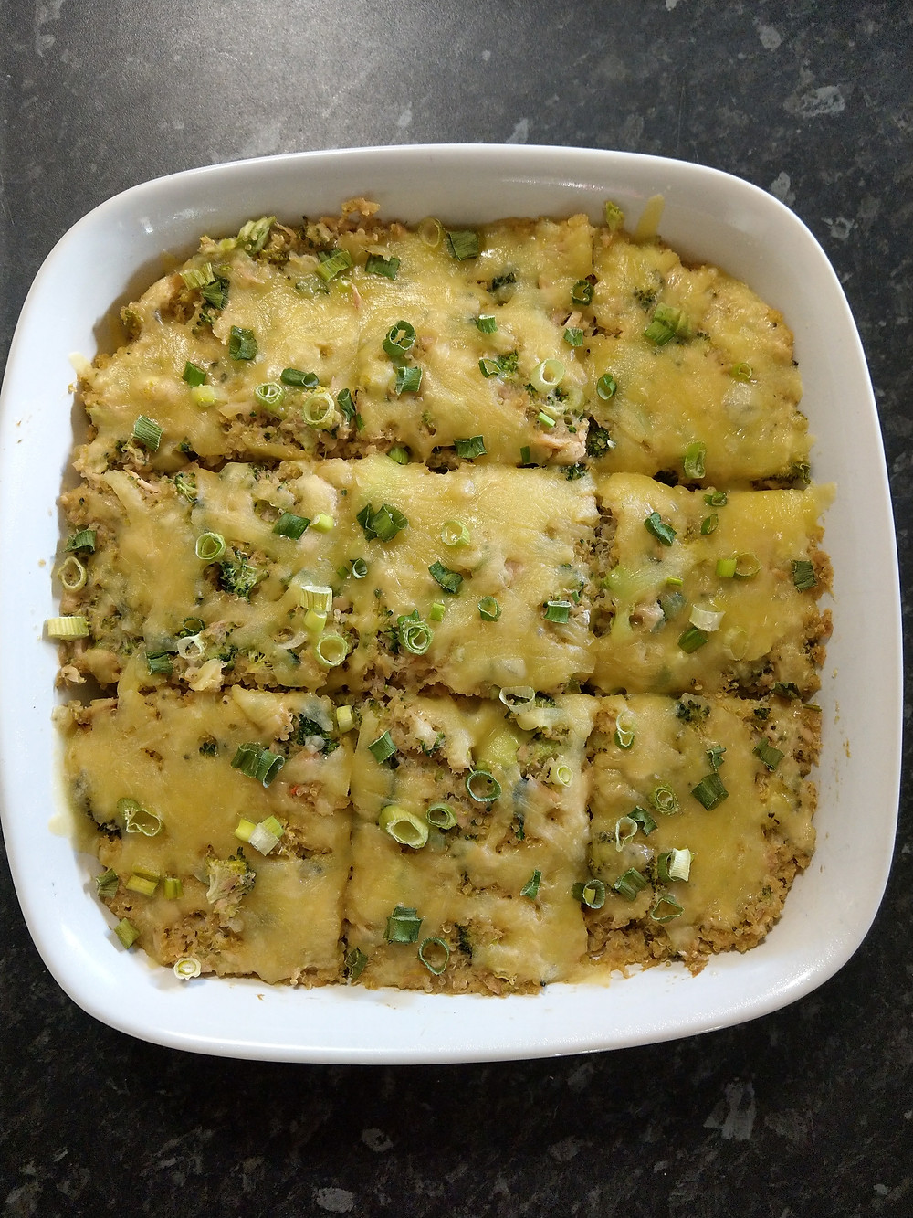 Cheesy Tuna Quinoa Bake high protein weight loss budget