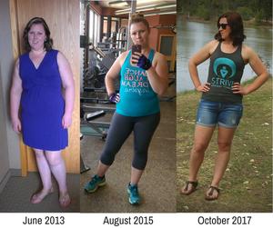progress picture transformation weightloss