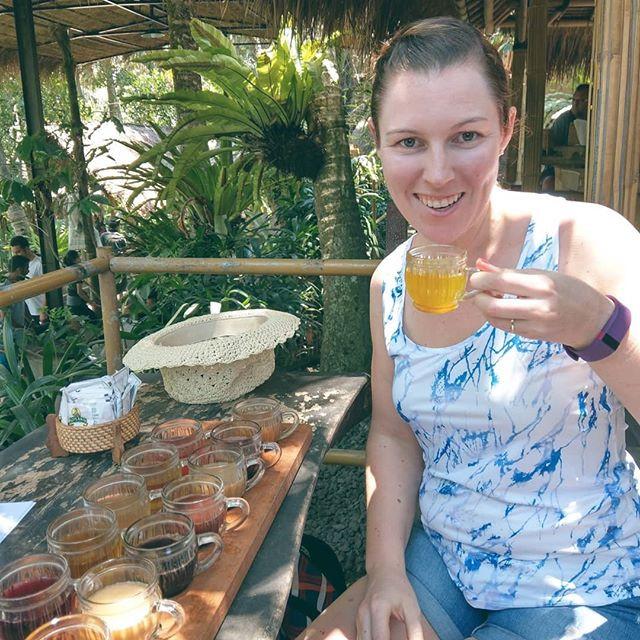 bali tea coffee plantation 2018 women's wellness
