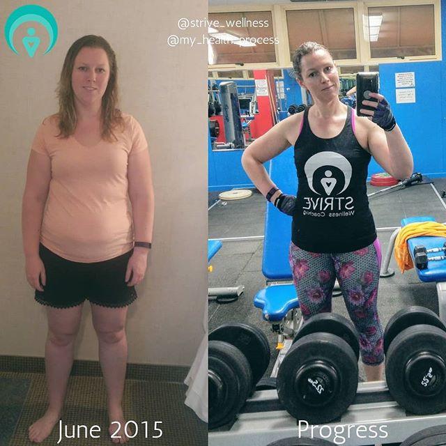 weight loss transformation realistic progress woman