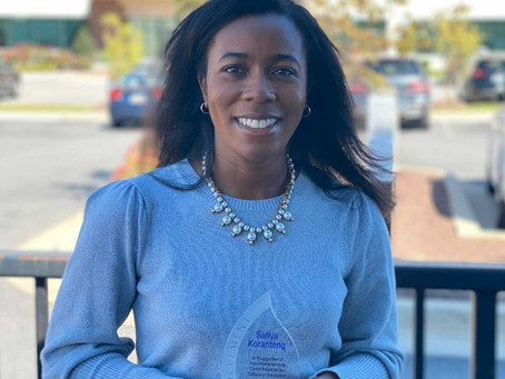 Safiya Koranteng named MorphWorks' 2020 Execution Excellence Award Winner