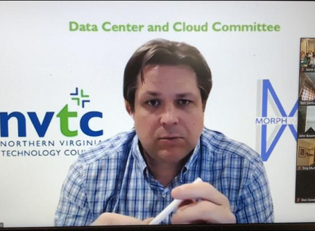 Oglesby moderates NVTC Virtual Cloud Committee Forum