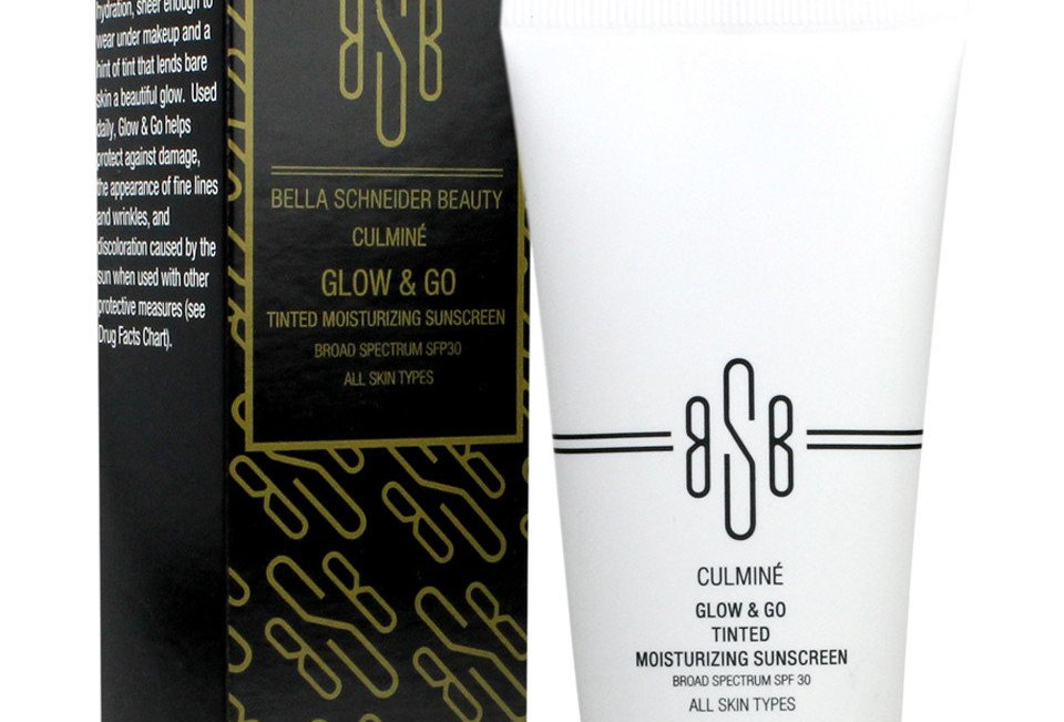 BSB CULMINÉ® Glow & Go Tinted Moisturizing Sunscreen (ROUGE)