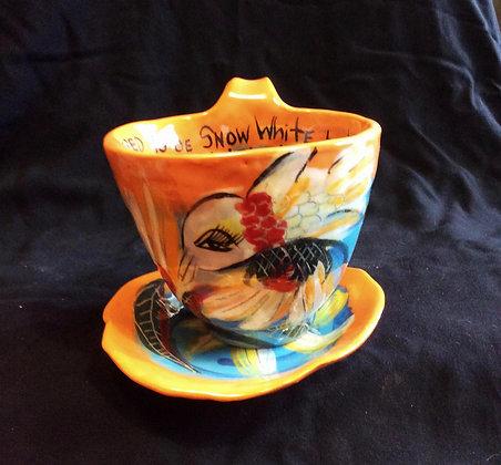 Hummingbird Large Cup & Saucer