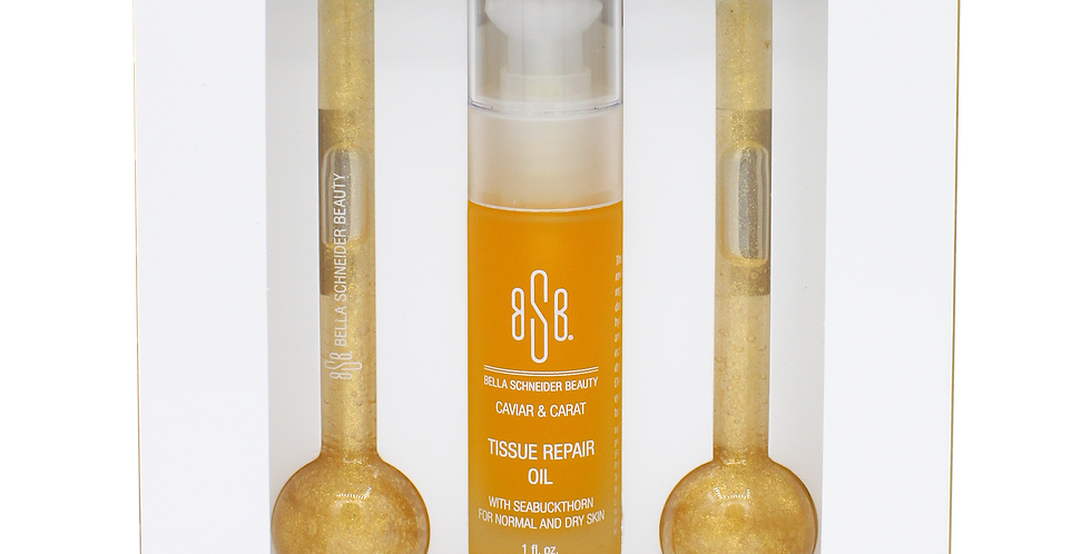 GOLDEN GLOW-SICLES™BEAUTY GLOBES + TISSUE REPAIR OIL KIT