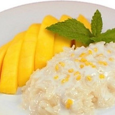 Mango with Sticky Rice (Seasonal)