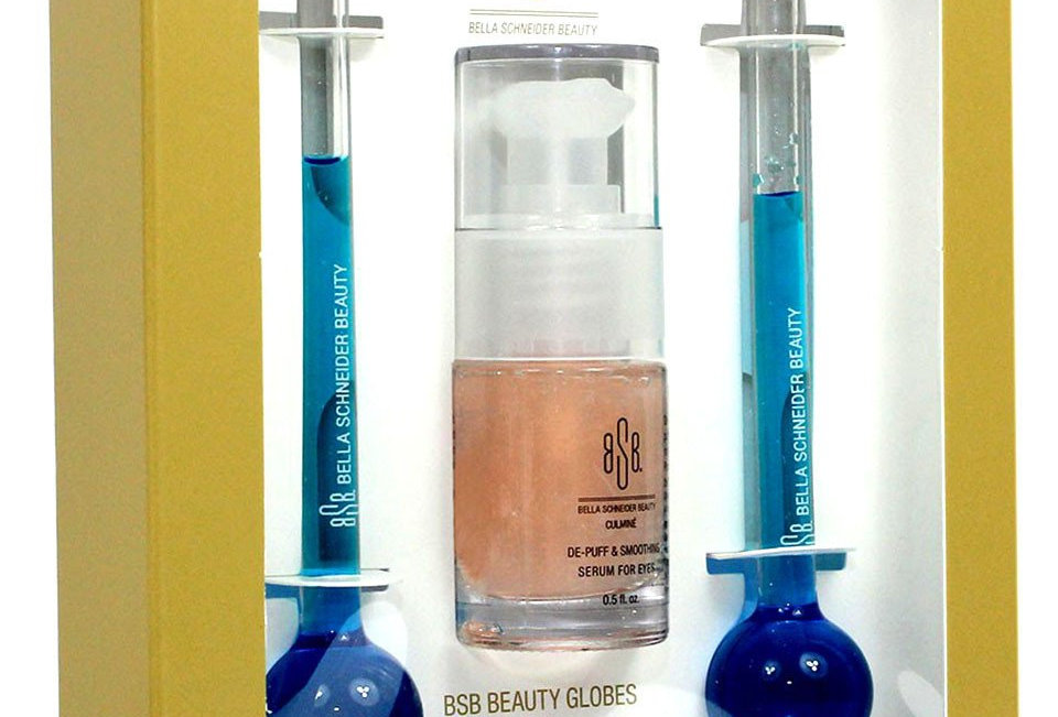 BSB CULMINÉ® Beauty Globes + De-Puff Smoothing Eye Serum