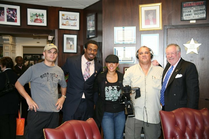 Steven Jackson & Mayor Oscar Goodman