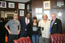 Steven Jackson & Mayor Oscar Goodman