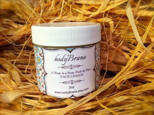 Organic Rose Face Cream