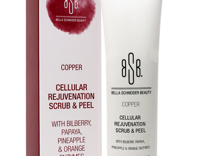 BSB COPPER Cellular Rejuvenation Scrub & Peel