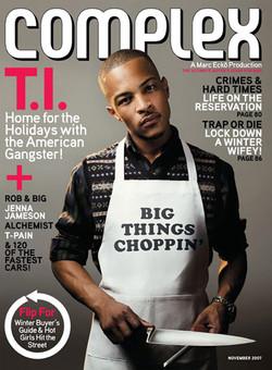 T.I. Complex Magazine spread