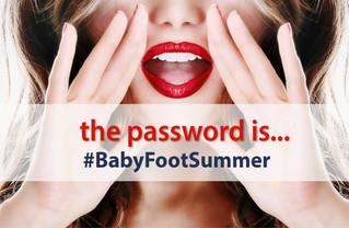 #BabyFootSummer