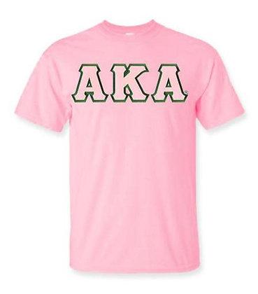 AKA Pink Sorority tshirt