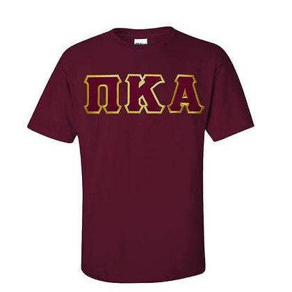 PKA Maroon Fraternity tshirt