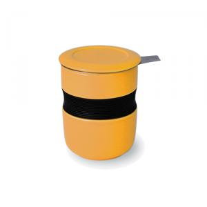 Teacup with Infuser & Lid