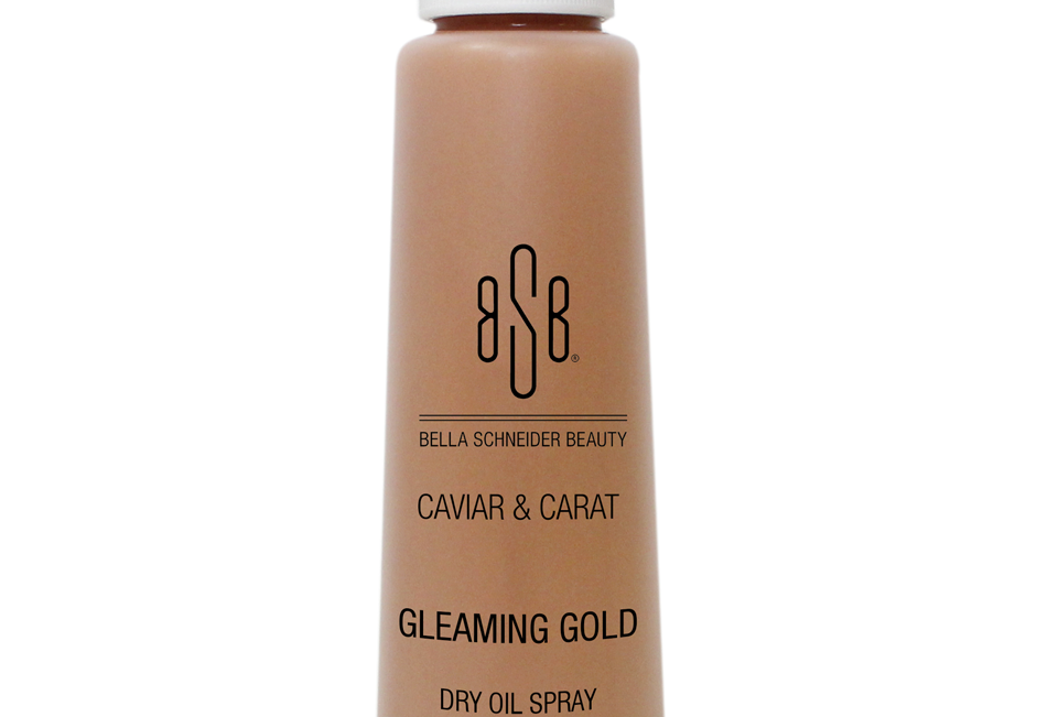 BSB CAVIAR & CARAT Gleaming Gold Dry Oil Spray