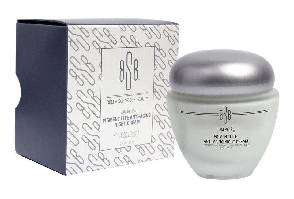 BSB LUMIPELÉ™ Pigment Lite Anti-Aging Night Cream
