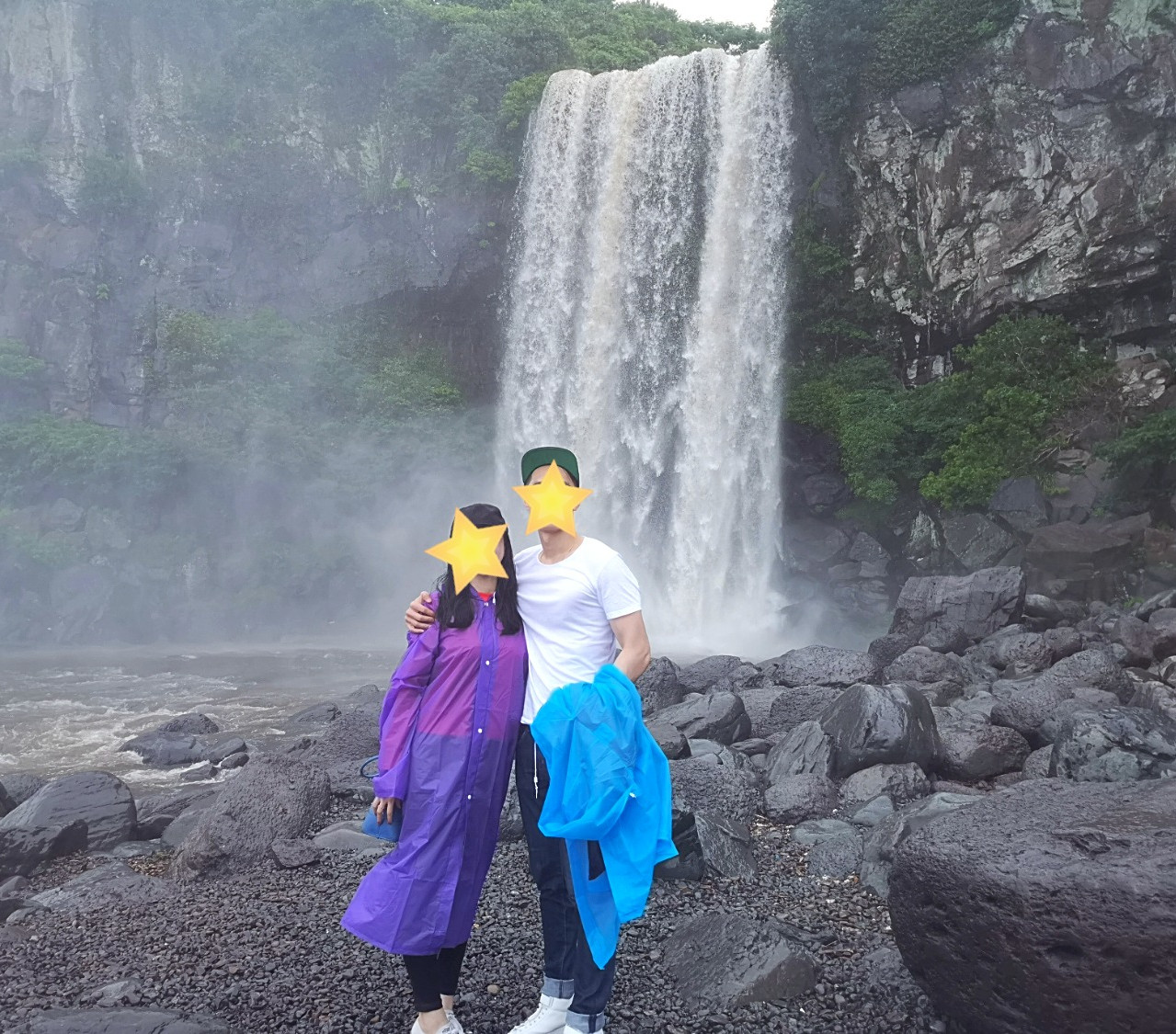 Jeongbang Waterfalls Jeju