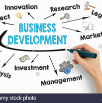 business-development-concept-chart-with-