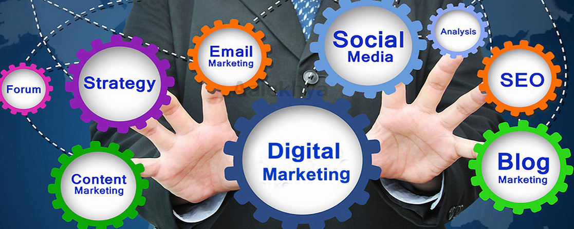 Digital Marketing in which all segments