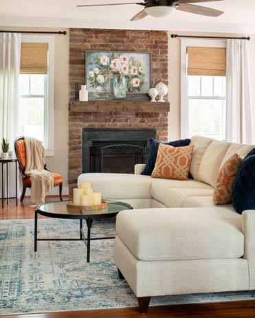 casual sophisticated family room