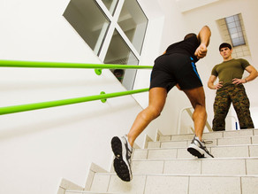 Get your body moving with the best 5 Stair exercises to get a full body workout