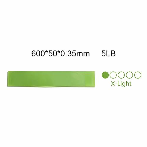 Resistance Bands 5 Colors Loop Equipment  Home Workout (5lb- 25lb)