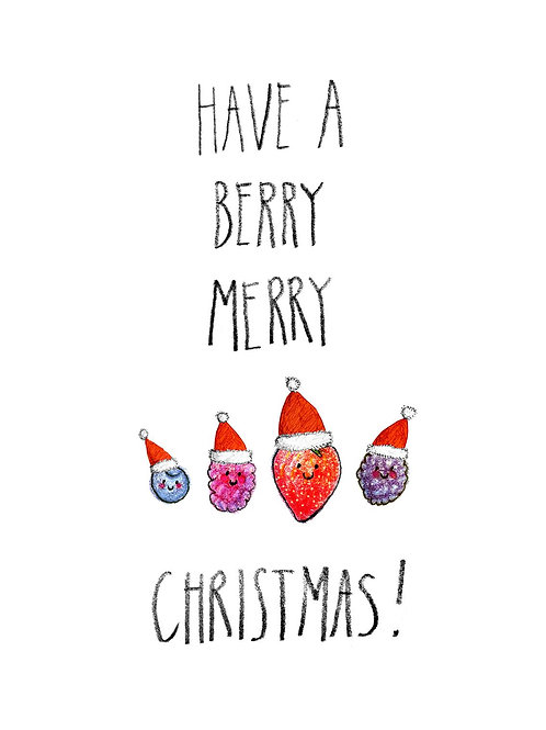 Have a Berry Merry Christmas Card
