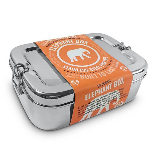 Elephant Box Steel Food Container 1.8 ltr