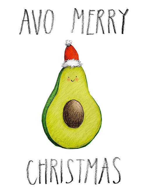 Avo Merry Christmas Card