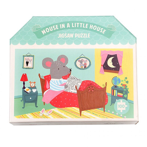 Mouse In The House Puzzle (100pcs)