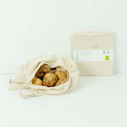 Cotton Produce Bag - Large