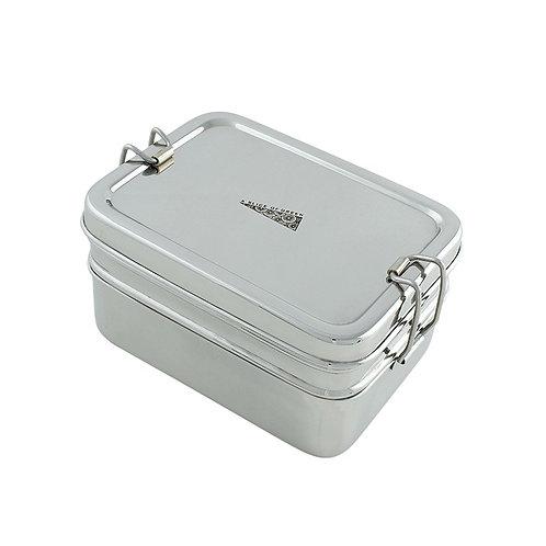 Two Tier Steel Lunchbox 900ml