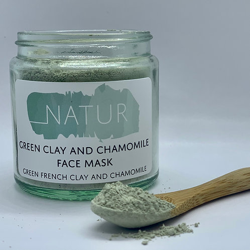 Clay and Chamomile Face Mask