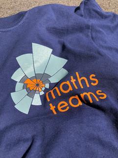 Maths Team t-shirt