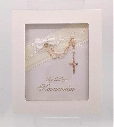 """Rosenkranz """" Buch Kommunion """""""