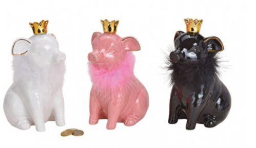 Sparschwein mit Krone