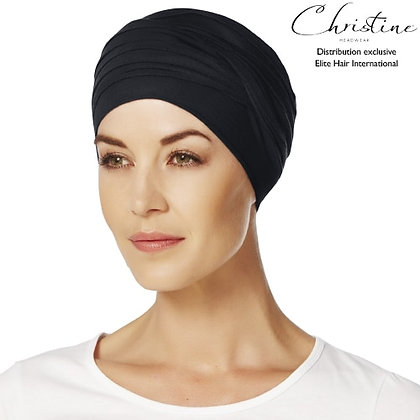Turban en bambou Hindi - Noir