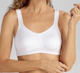 Soutien gorge pour prothèses mammaires Dianna Blanc du 85 AA au 100 D