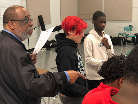 ''THE WEB'' Today's Z-Factor Leadership Program session at Deshler Middle School was a success......