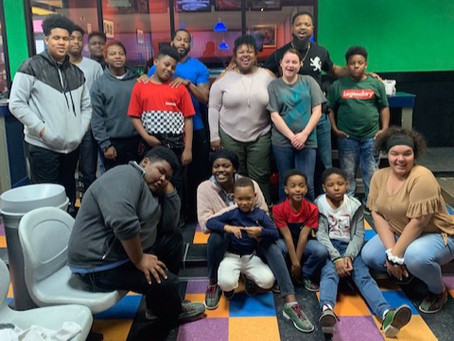 Bowling Night with the Students of The JUMP | We had a BLAST