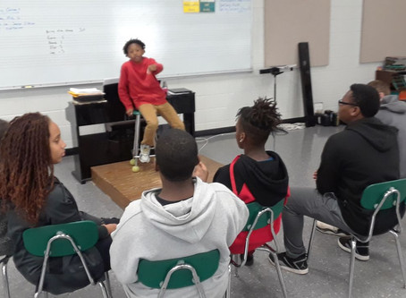 Our Middle School students put their training into action today, and I was highly impressed!