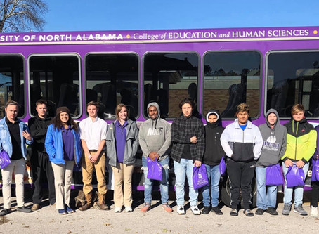 2019 NEWSLETTER | NOVEMBER |Z-Factor students learn life, leadership skills at UNA to learn leade...