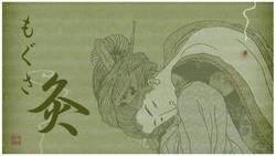 Séance de moxibustion japonaise
